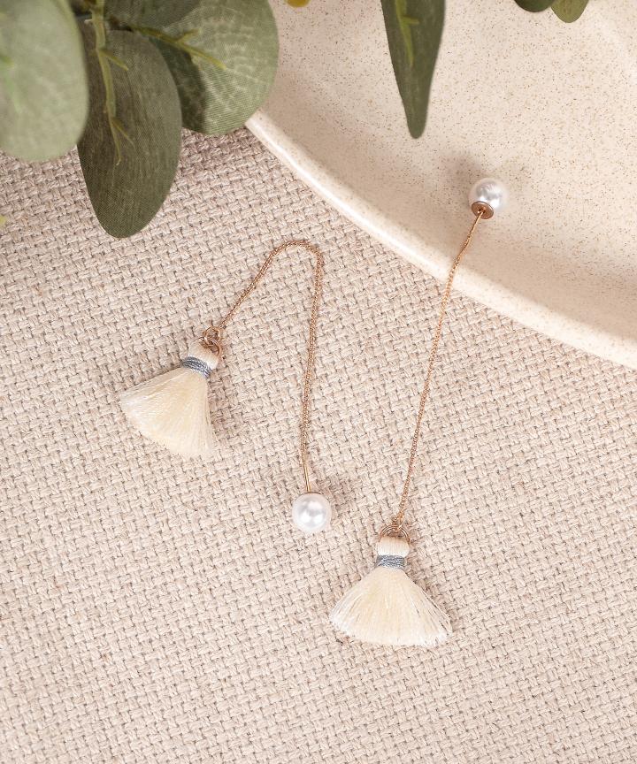 Abbey Tassel Drop Earrings