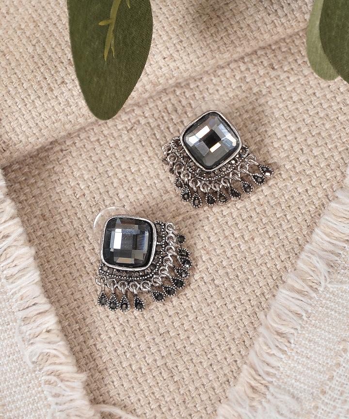 Baroque Embellished Earrings