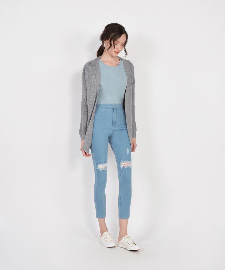 Geneva Cardigan - Grey