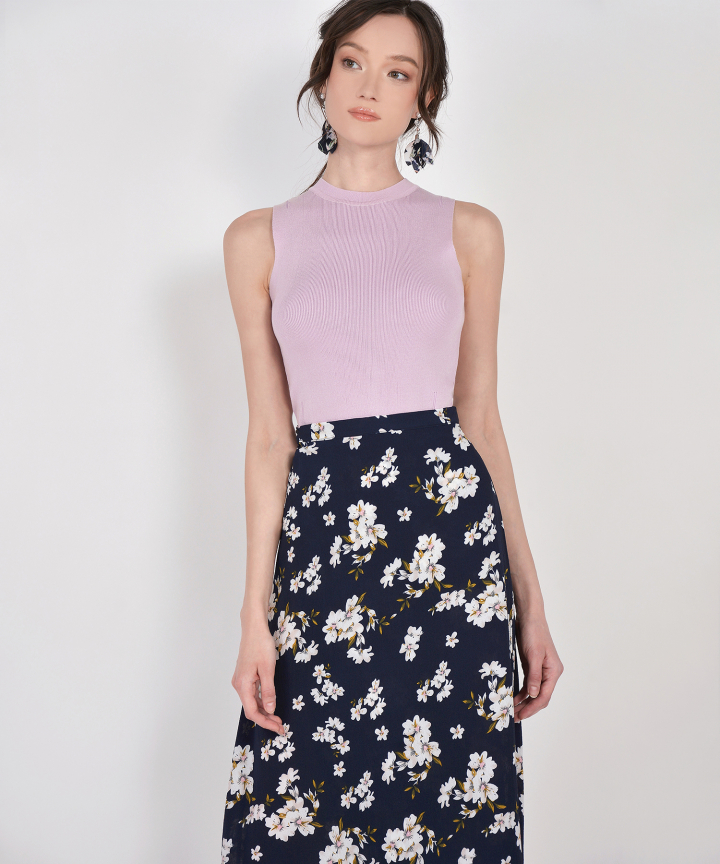 Faith Floral Wrap Skirt