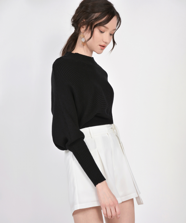 Ginny Knit Blouse - Black