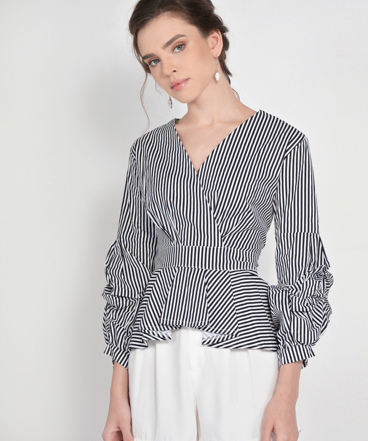 Alley Striped Blouse