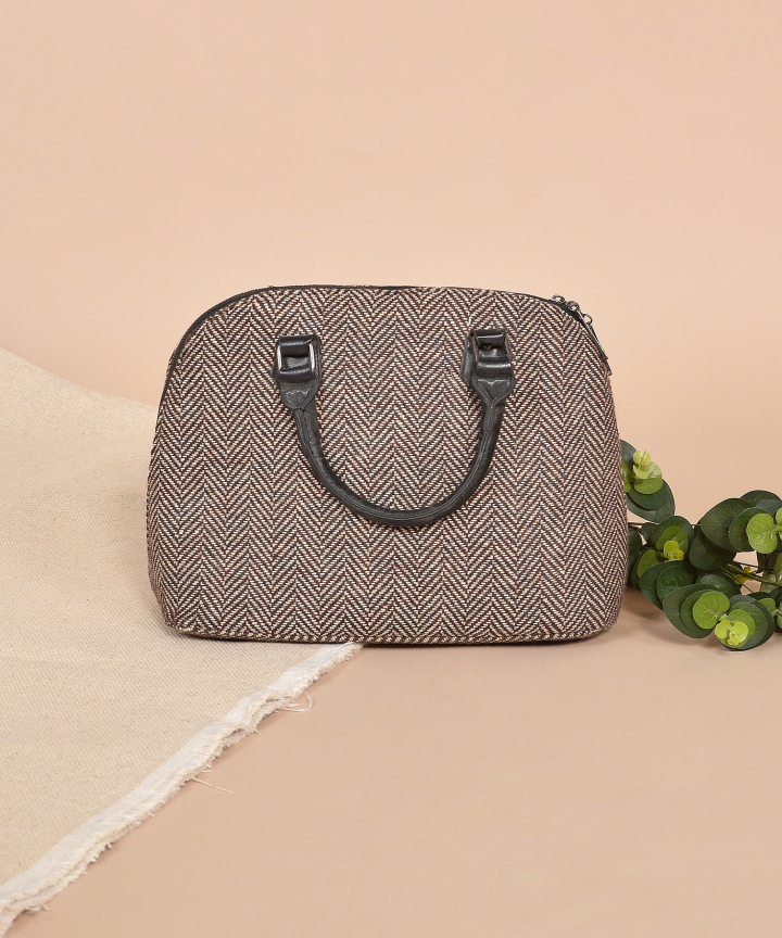 Herringbone Handbag