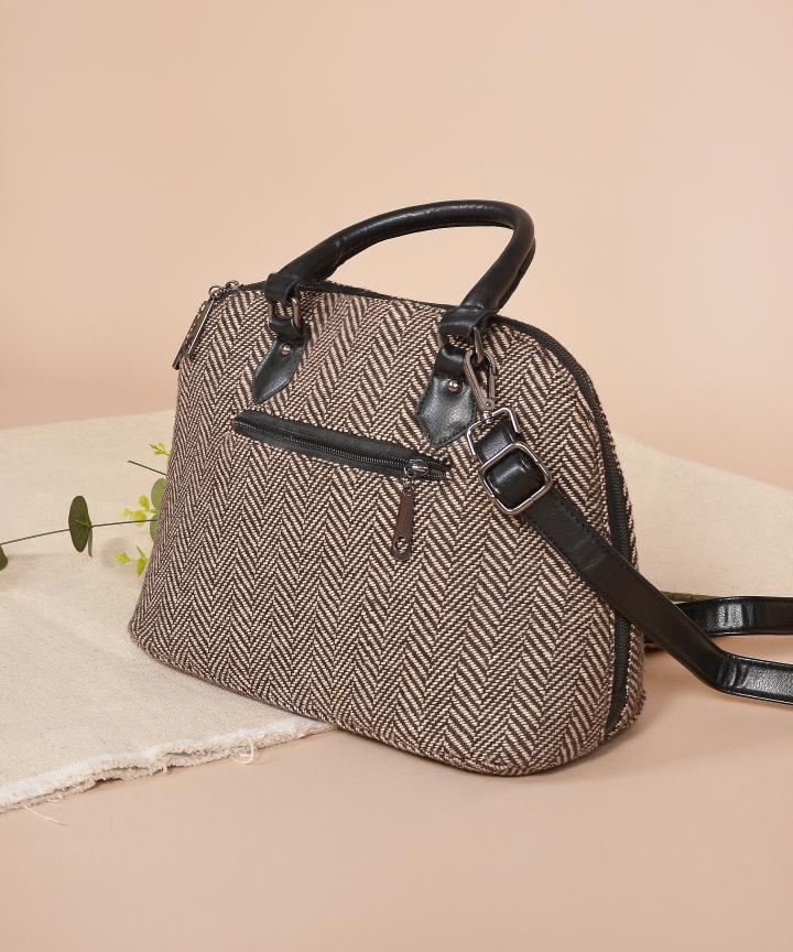 Herringbone Handbag