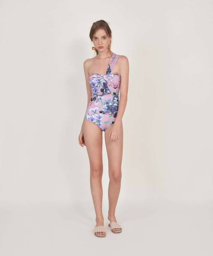 Camilla Floral Toga Swimsuit (Backorder)