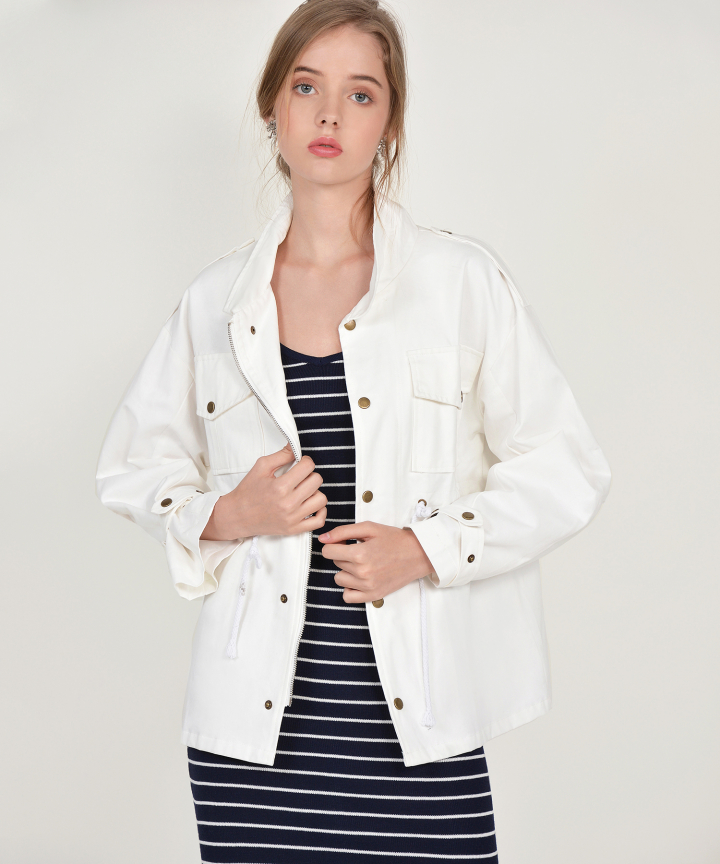 Rodriguez Jacket - White
