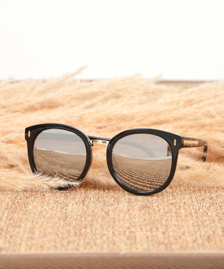 Monet Framed Sunglasses - Grey