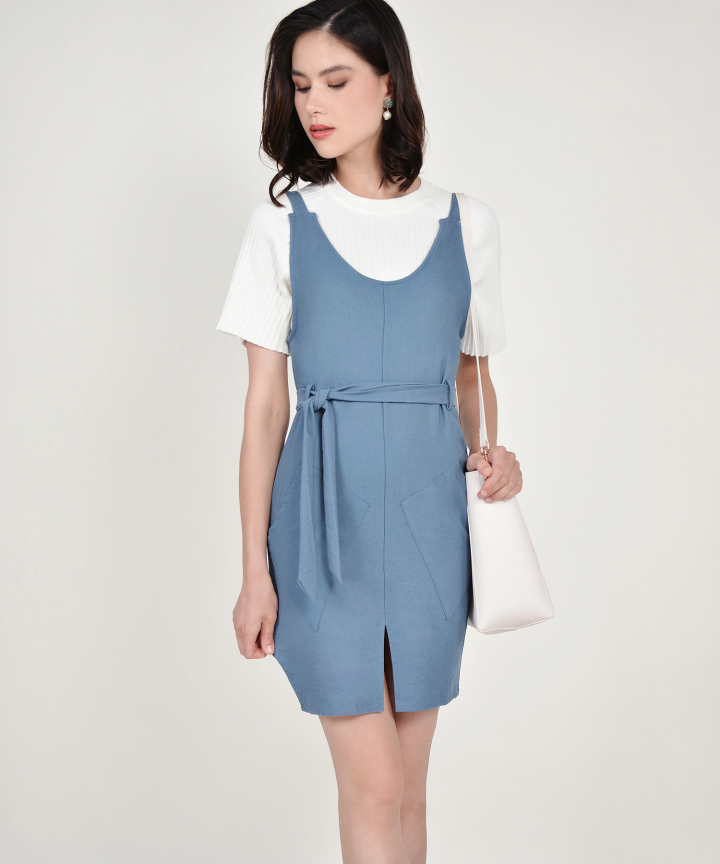 Muse Pinafore Dress