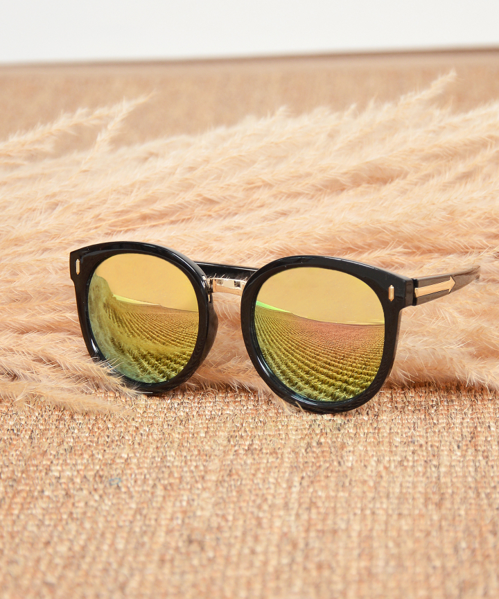 Monet Framed Sunglasses - Gold