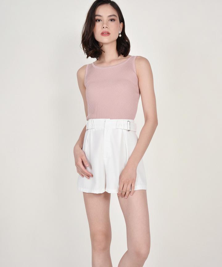 Cassie Knit Tank - Pink