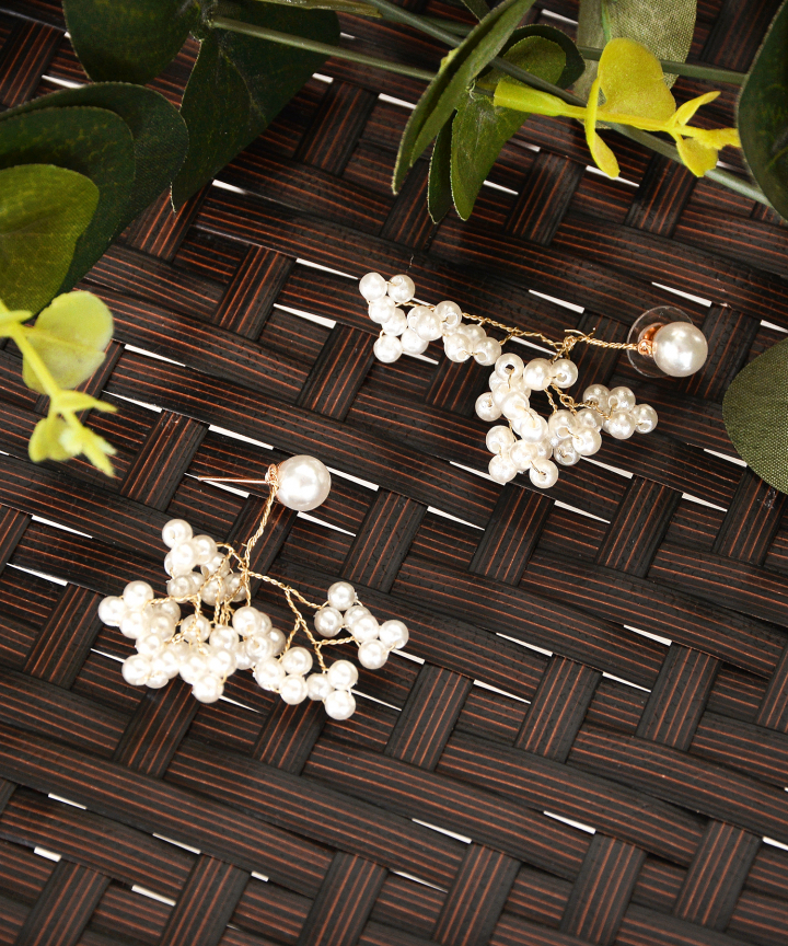 Branch Pearl Earrings