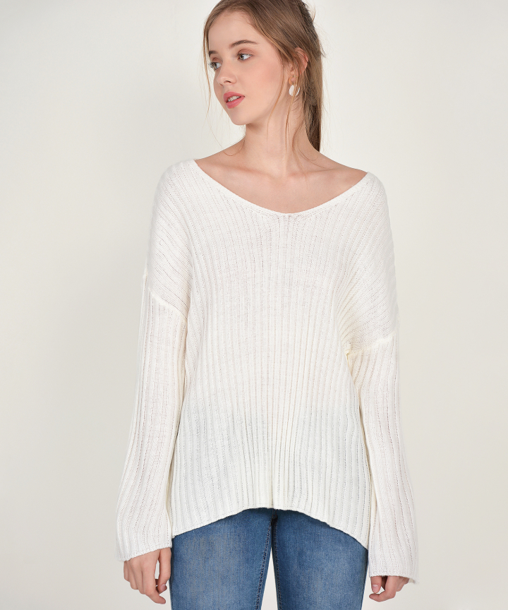 Sundance Sweater - White
