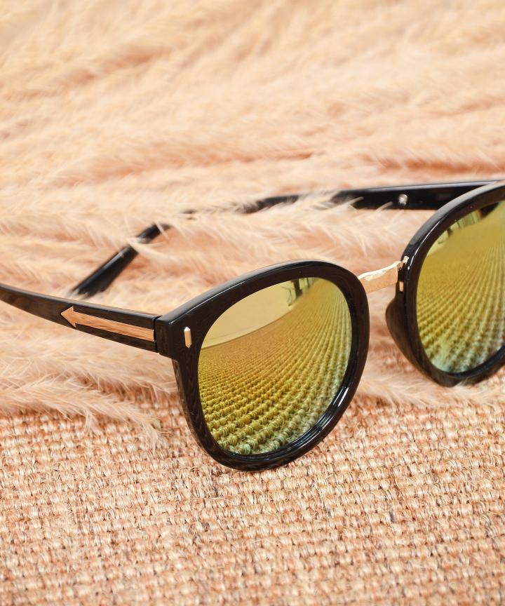 Monet Framed Sunglasses - Gold