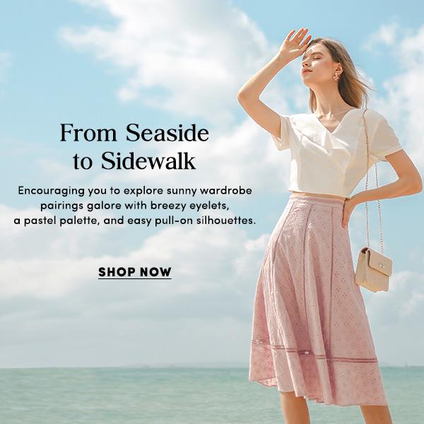 From Seaside to Sidewalk