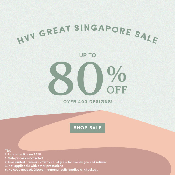 HVV GREAT SINGAPORE SALE