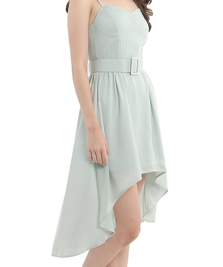 Marcelle Cascade Midi Dress