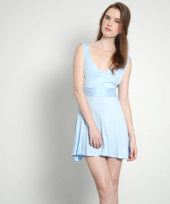 Lattice Pastel Bow Dress