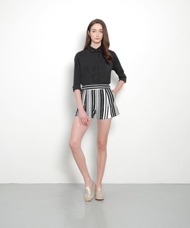 Mod Striped Shorts