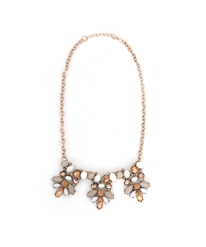 Dahlia Sepia Necklace - Restock
