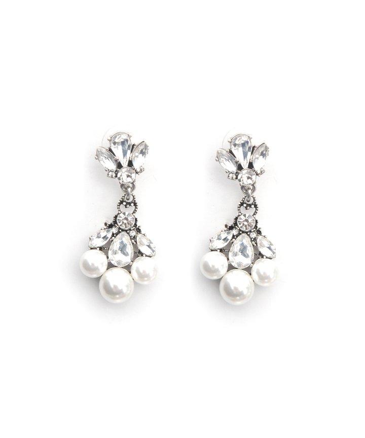 Catriona Pearl Earrings - Restock
