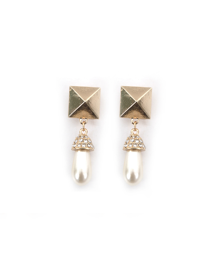 Maya Pearl Drop Earrings - Restock
