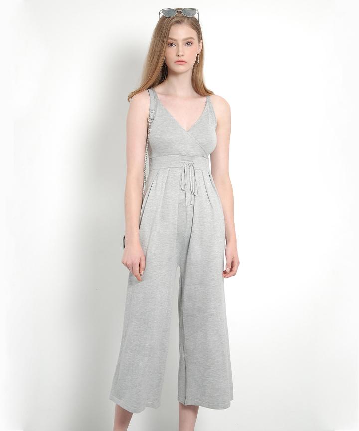 Bridgette Jumpsuit (Grey)