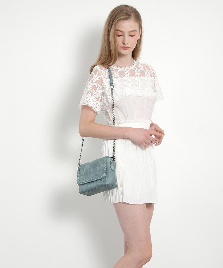 Lumiere Lace Blouse (White)