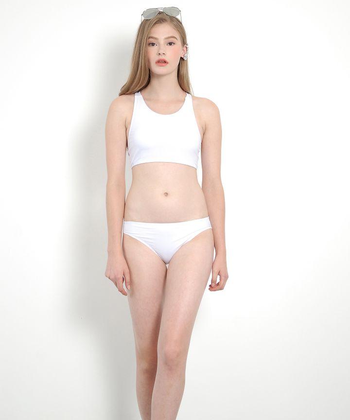 Midsummer Classic Bikini (White)
