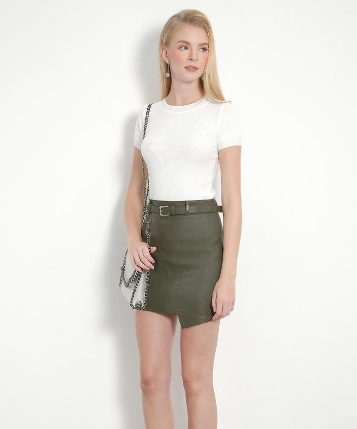 Stella Knit Top (White)
