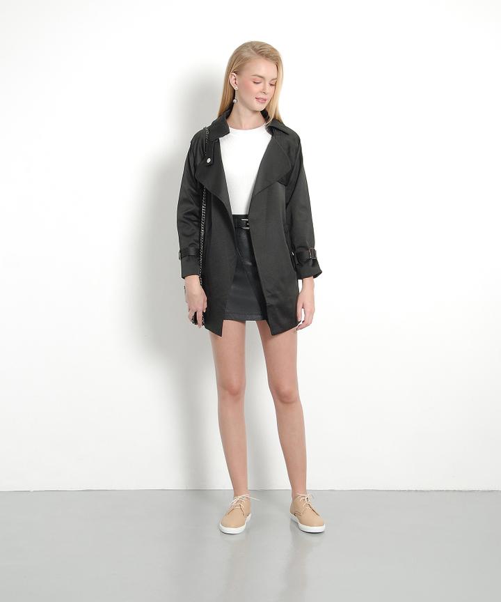 Epicure Classic Coat - Black