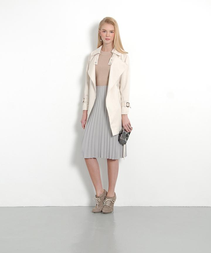 Epicure Classic Coat - Beige