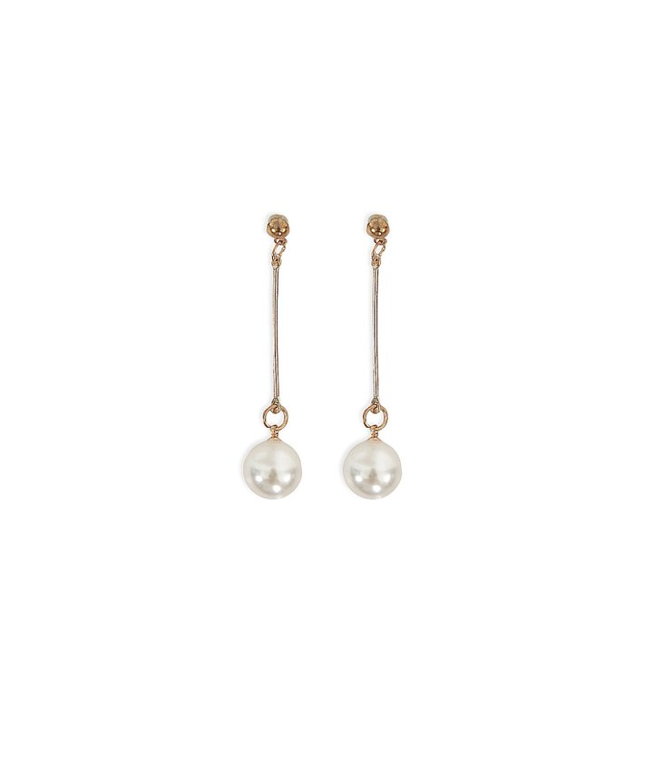 Arabella Drop Pearl Earrings