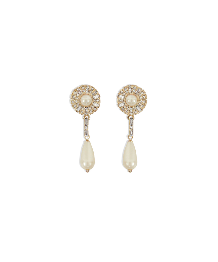 Chantilly Pearl Earrings - Restock