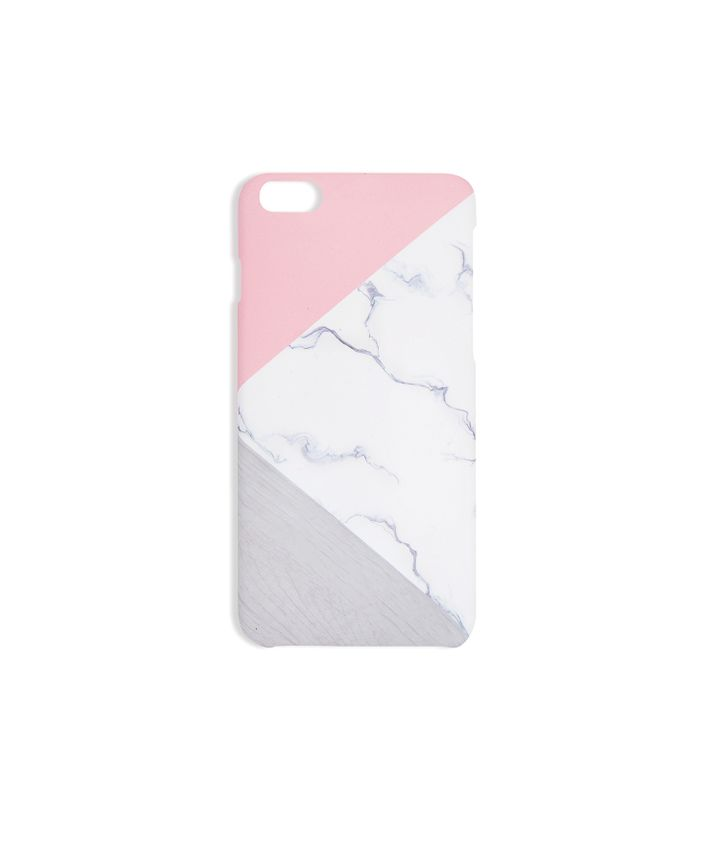 Marble Pink iPhone Cover