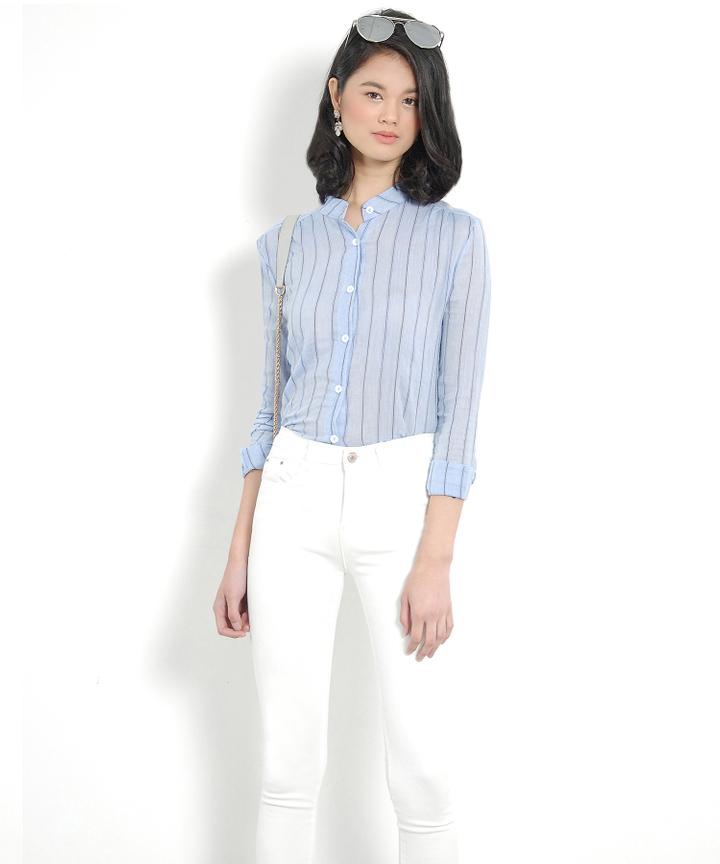 Devina Pinstriped Shirt