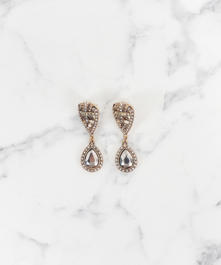 Svetlana Bejewelled Earrings