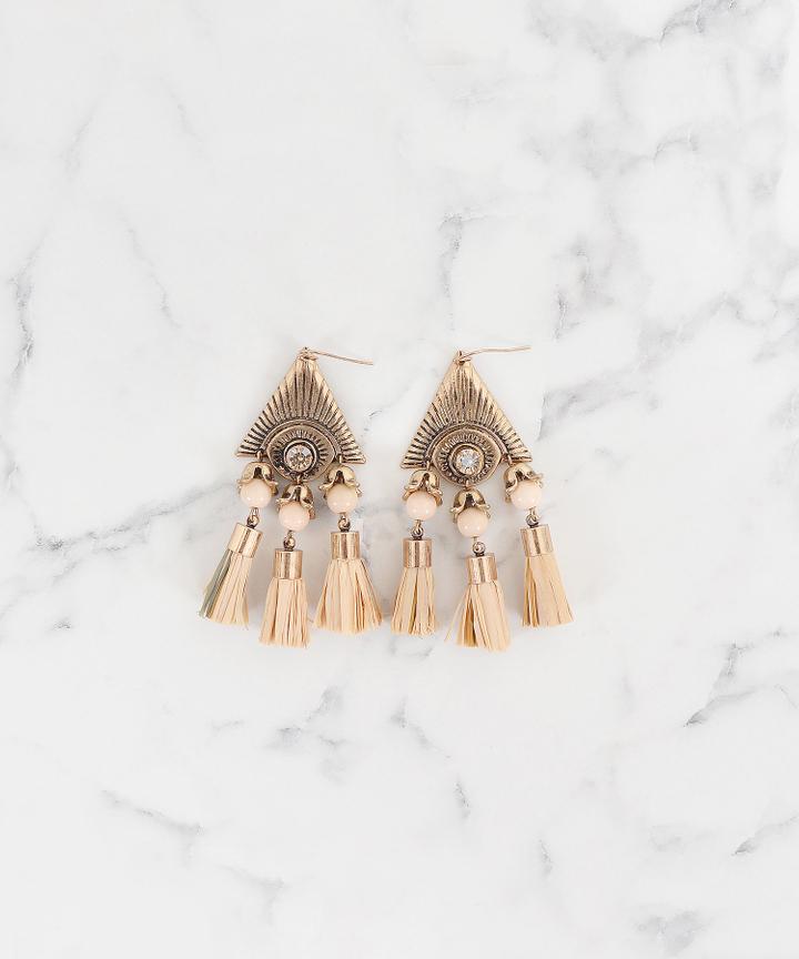 Dynasty Tassel Earrings (Restock)