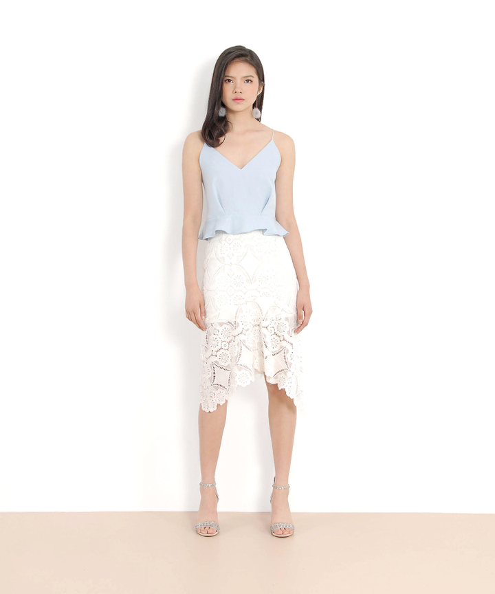 Marmalade Mermaid Skirt - White