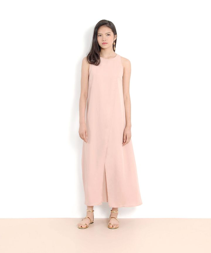 Allegro Overlay Maxi - Pale Pink