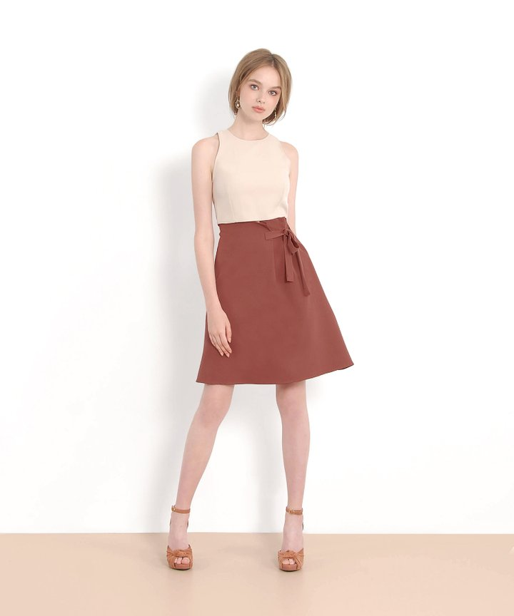 Claude Cropped Top - Nude
