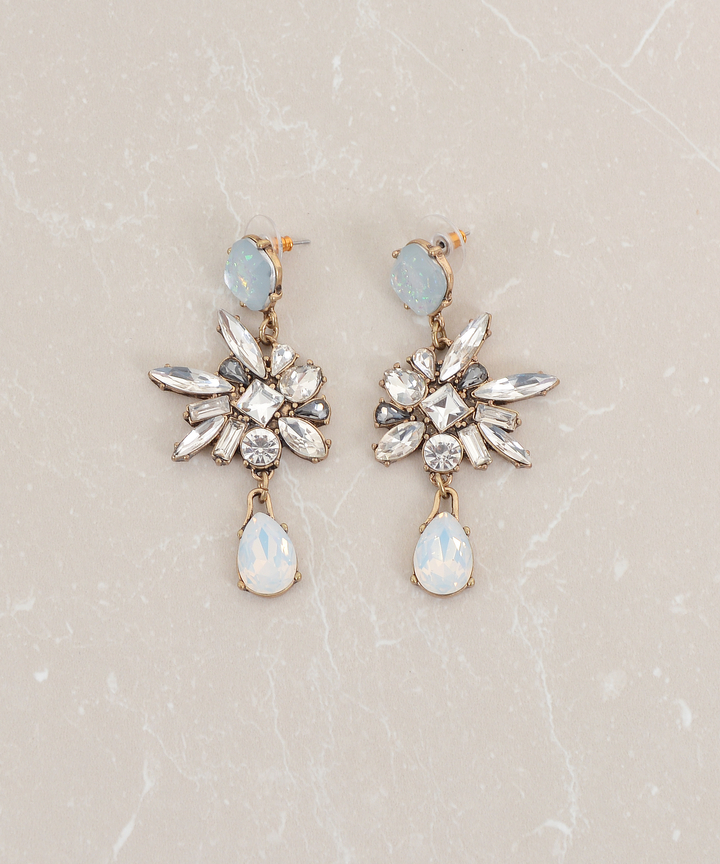 Glacial Embellished Earrings