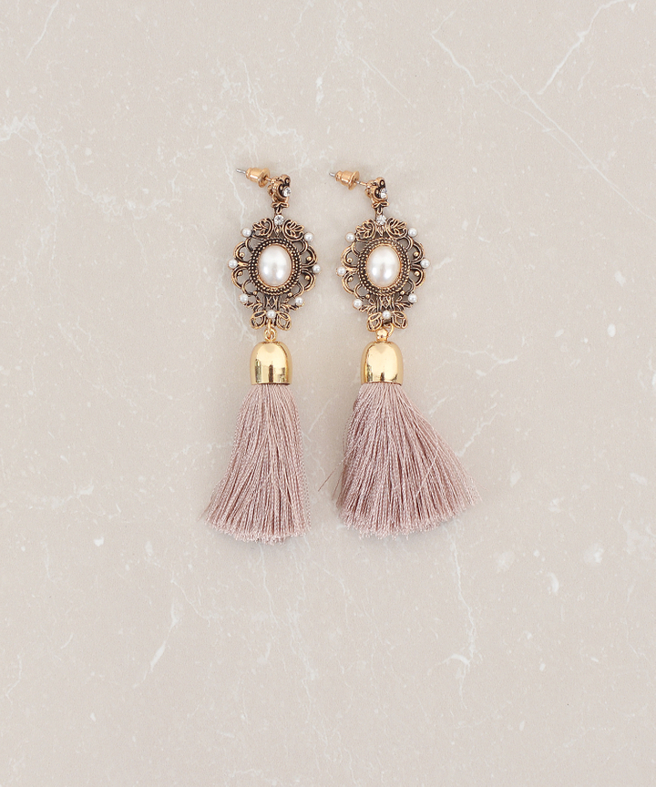 Victoire Tassel Earrings (Restock)