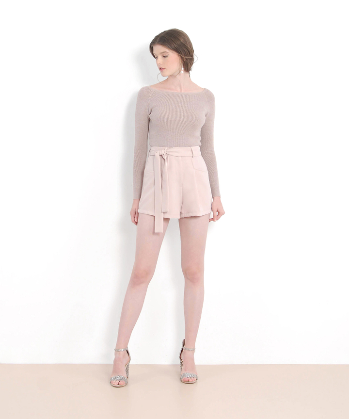 Bliss Sweater - Dust Pink