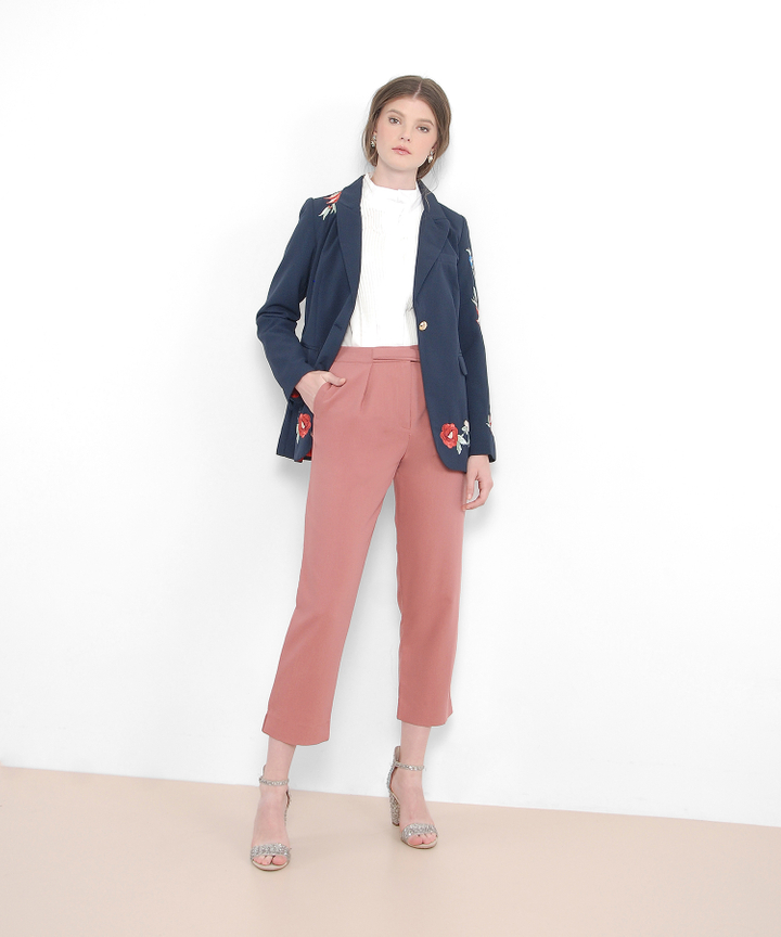 Sullivan Trousers - Rose Pink