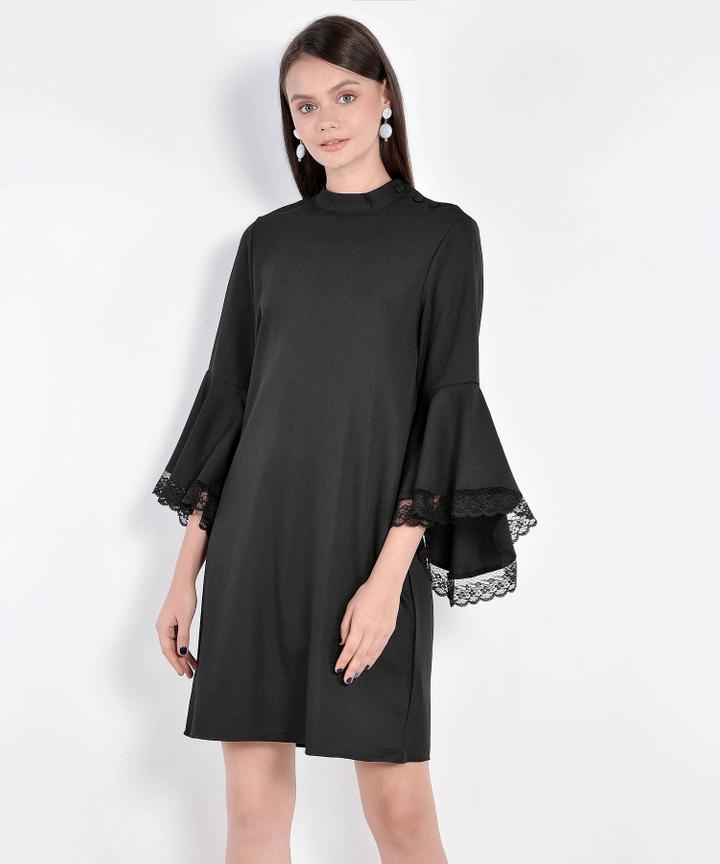 Matilda Lace Accented Dress