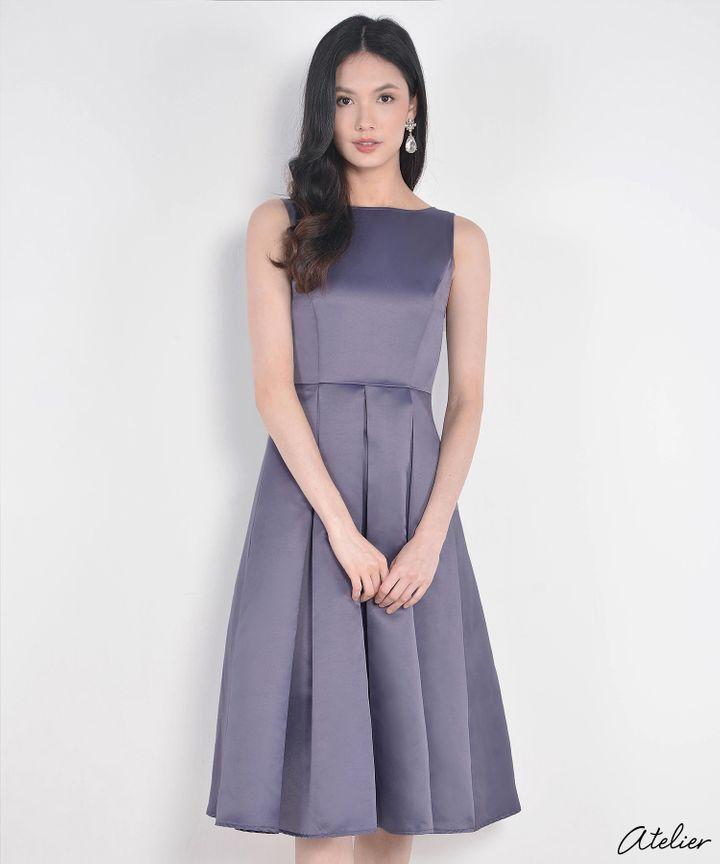 HVV Atelier Aurora Dress - Wisteria