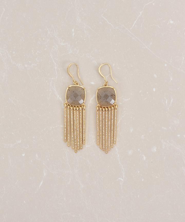 Bejewel Chained Earrings