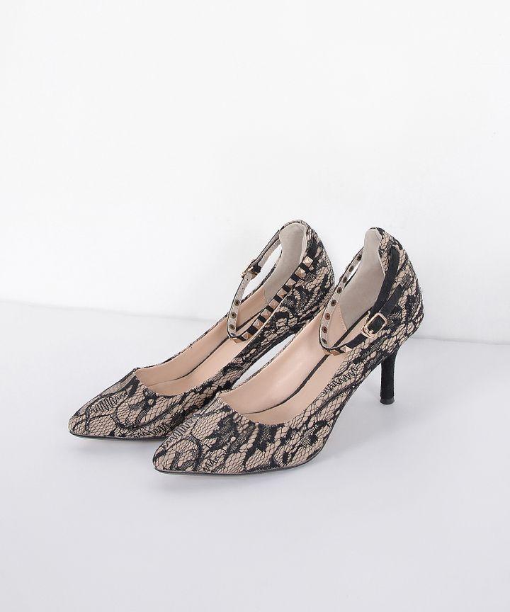 Chiara Lace Heels