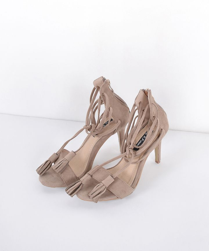 Cocoa Tassel Heels