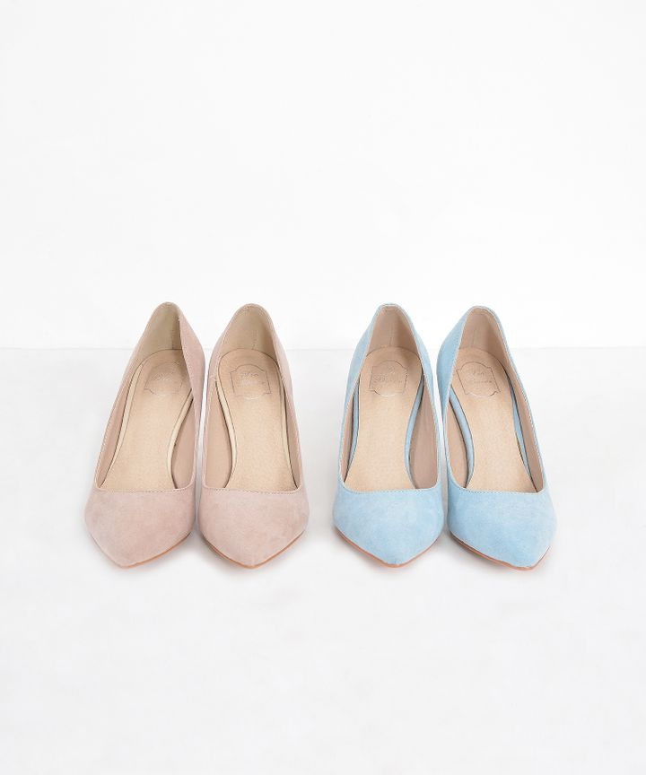 Atlas Suede Pumps